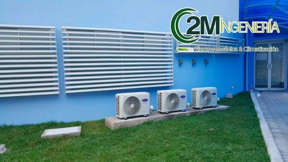 Suministro e instalación mecánica de sistemas de Aires Acondicionados